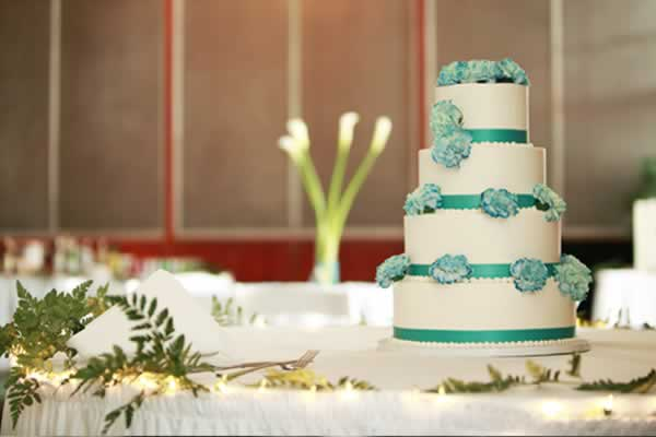 Milwaukee Wedding Cake Teal Filed Under