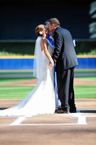 Miller Park Wedding Ceremony by JBe Photography