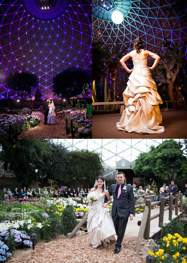 Milwaukee Wedding Ceremony Venue - Mitchell Park Domes