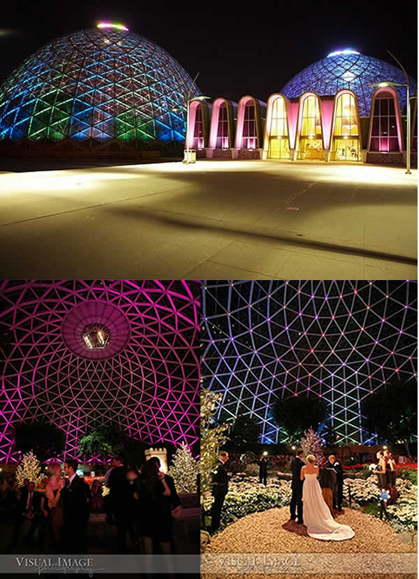 Milwaukee Wedding Reception Venue - Mitchell Park Domes