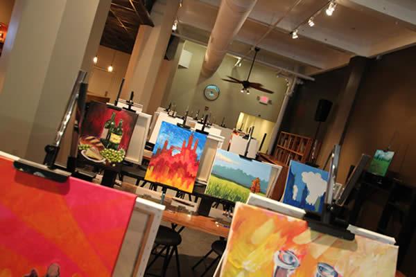 Milwaukee Splash Studio - Finish Canvas - Photo from Night By You