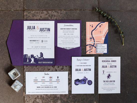 Milwaukee Wedding Invitations