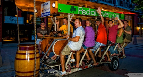 Pedal Tavern Milwaukee - Great for Bachelorette and ...