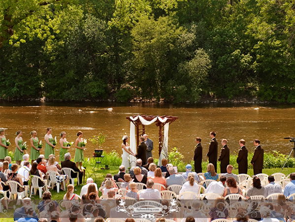 Hubbard Park Lodge Wedding Ceremony
