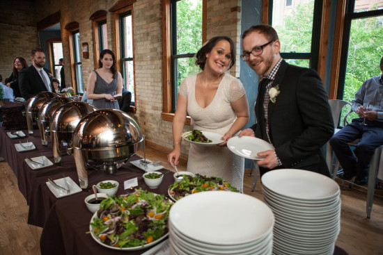 Find the top milwaukee caterers below. Photo at Onesto by Lindsay Stayton Photography