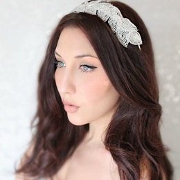 Handmade Beaded Headband - Bead Flora and Jewels - Milwaukee