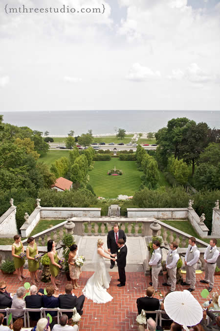 a villa terrace milwaukee wedding will impress On the terrace wedding