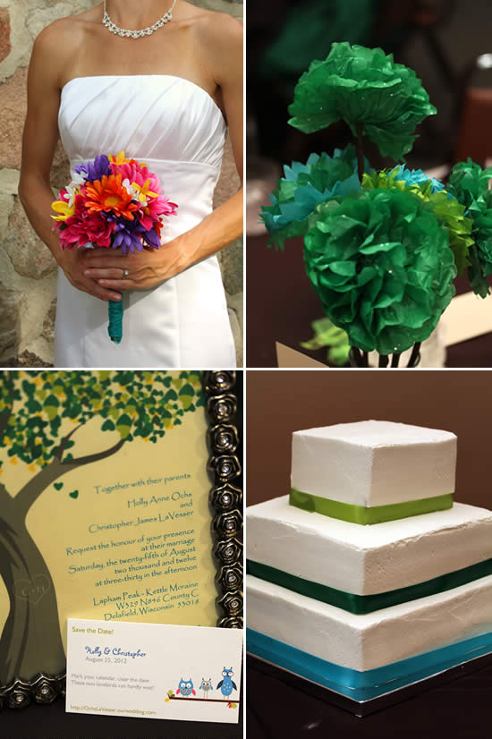 Budget Cake, Flowers and Invites