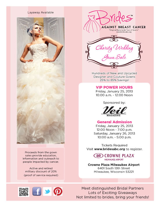 Brides Against Breast Cancer Flyer
