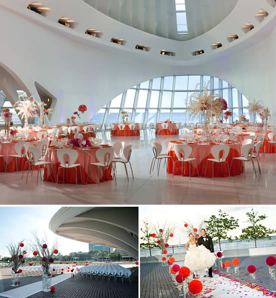 Milwaukee Art Museum Weddings