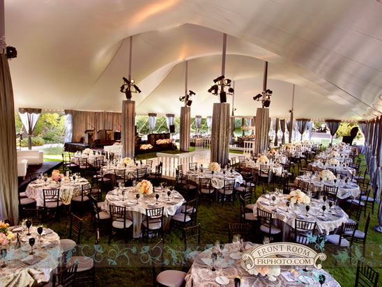 Tent Wedding At Boerner Botanical Gardens