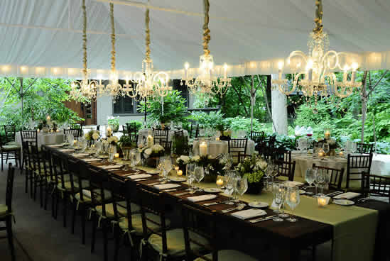 Tent Wedding Receptions Backyard Tent Wedding by David