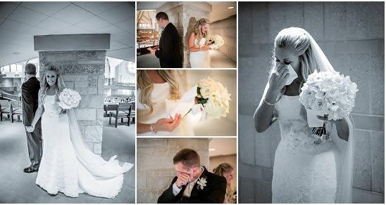 First Look Wedding - Milwaukee Photo