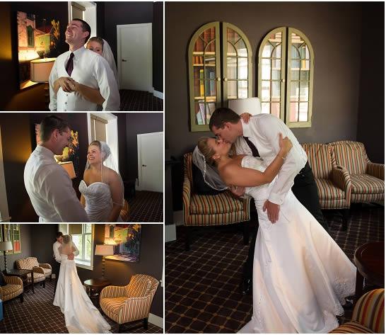First Look Wedding - Milwaukee