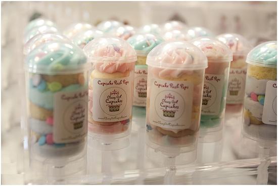 Classy Girl Cupcakes Milwaukee - Cupcake Push pops