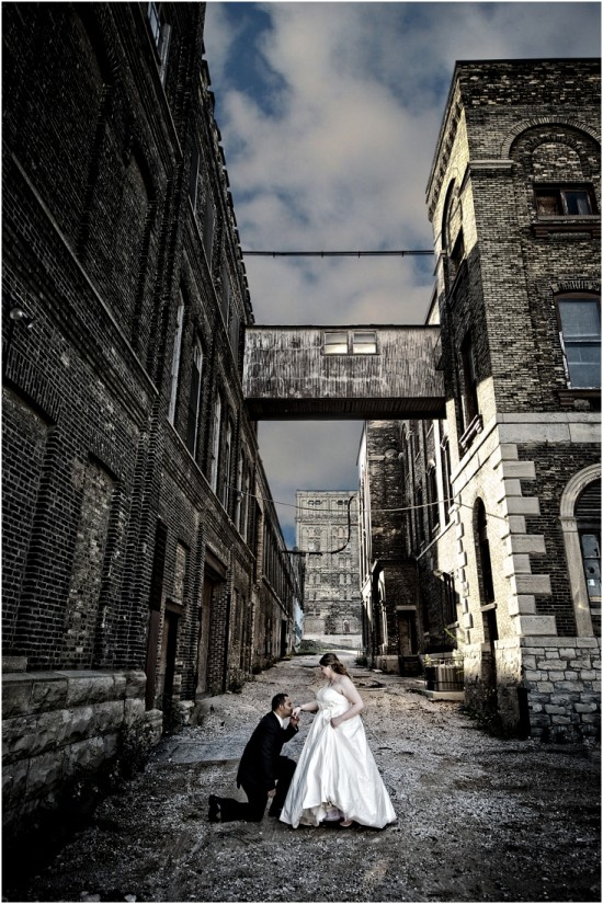 Pabst Brewery Wedding Photography
