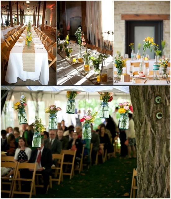 DIY Wedding Centerpieces - Milwaukee Florist - Belle Fiori