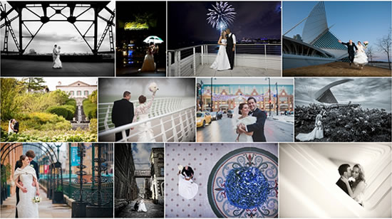 Milwaukee Wedding Photo Locations