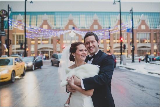 Downtown Milwaukee Holidays Christmas Wedding