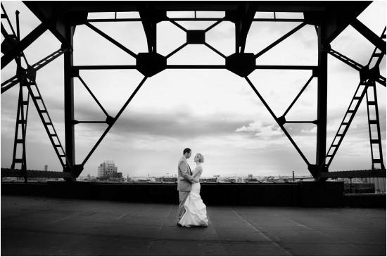 Pritzlaff Rooftop Wedding Photo