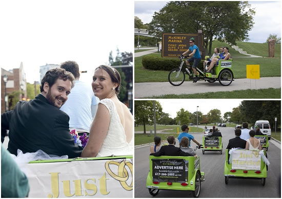 Cream City Rickshaw Wedding