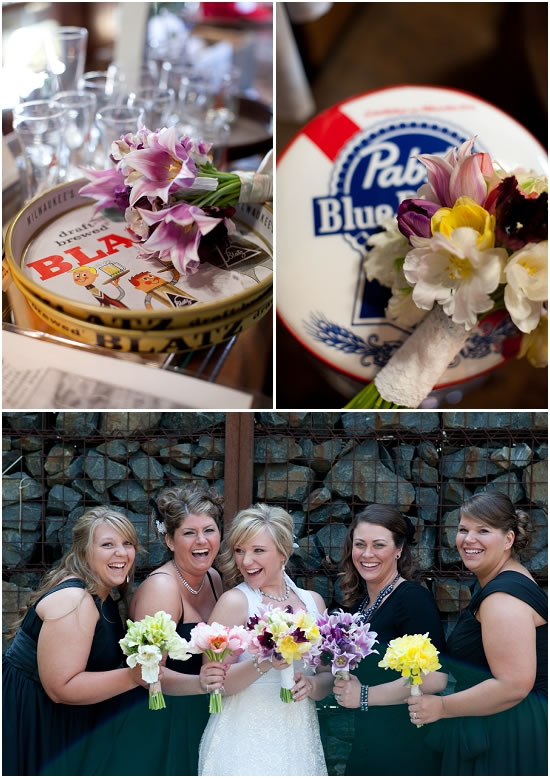 Pabst Brewery Wedding Flowers