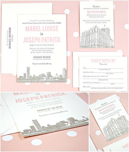 Broadway Paper Milwaukee Invitations