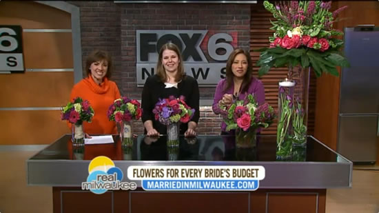 Fox 6 Real Milwaukee Flowers