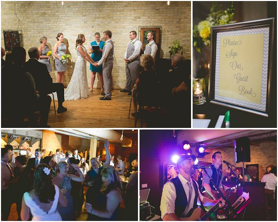 Swig Milwaukee Wedding Ceremony and Reception
