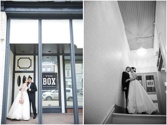 The Box Milwaukee - Alternative Wedding Venue