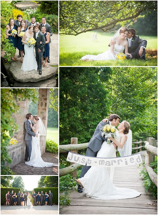 Boerner Botanical Gardens Wedding Photos