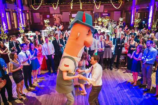 Miller Park Sausages Wedding