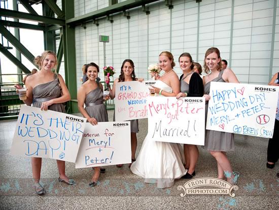 Miller Park Wedding Reception