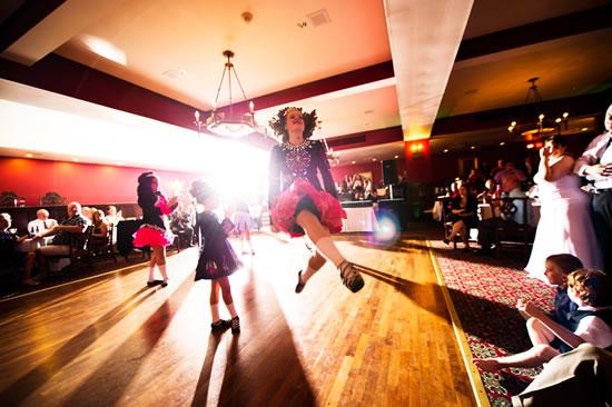 Trinity Irish Dancers Wedding