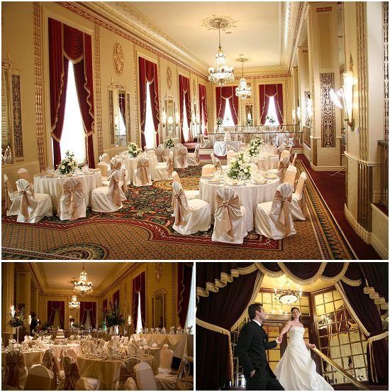 Art Deco hotel Milwaukee wedding venue