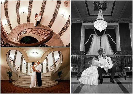 Art Deco Hotel - Downtown Milwaukee - Weddings