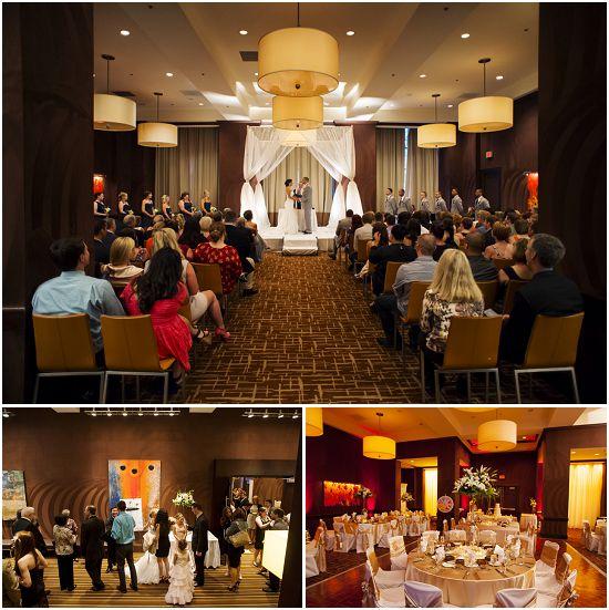 Intercontinental Hotel - Milwaukee Wedding Ceremony