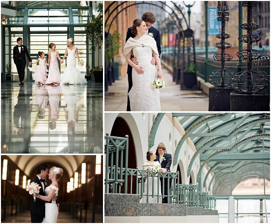 Milwaukee Wedding Indoor Photo Locations