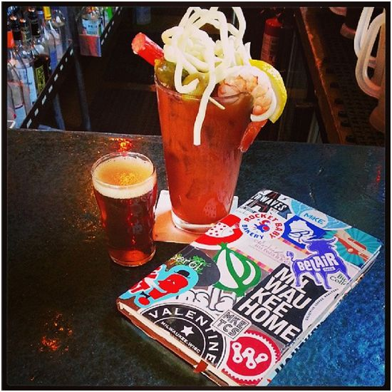 Bloody Mary Instagram - Milwaukee