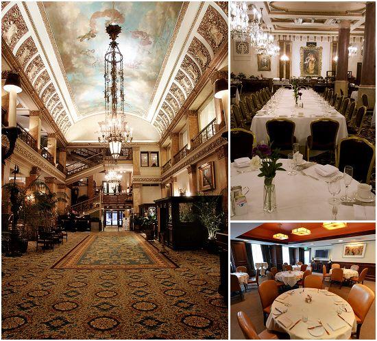Pfister Hotel Milwaukee - Private room Mason Street