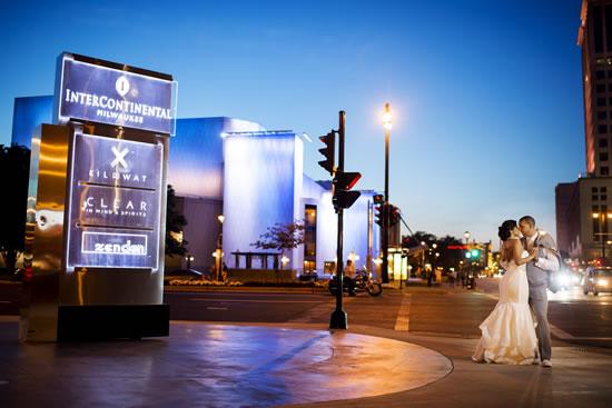 Intercontinental Milwaukee Wedding