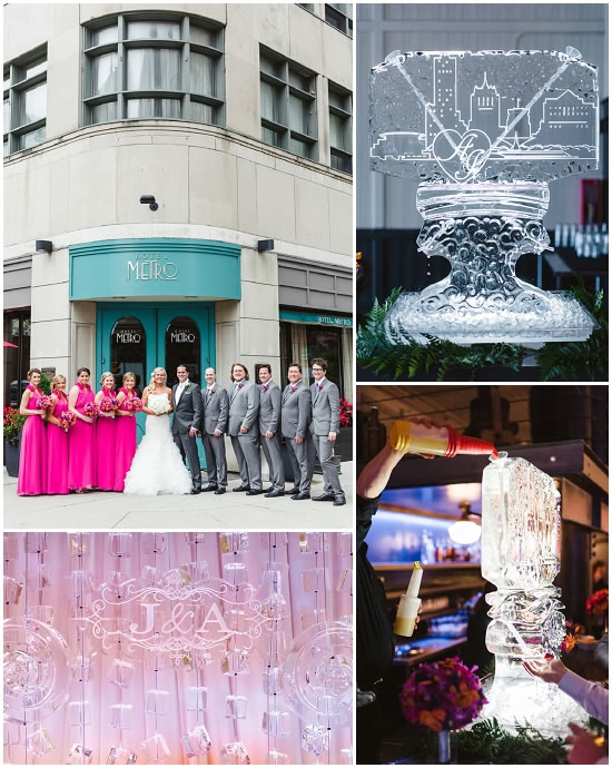 Milwaukee Wedding Ice Sculpture