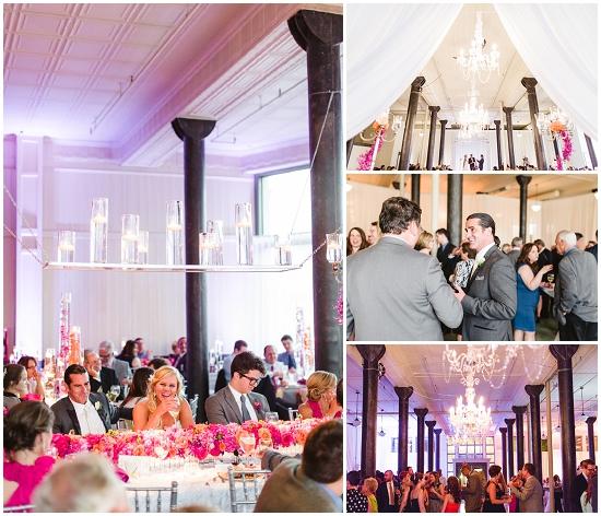 Ceremony And Reception In Same Room: Pritzlaff Building Wedding Cost Breakdown $106K