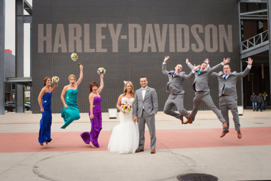 The Harley-Davidson Museum Wedding Venues.