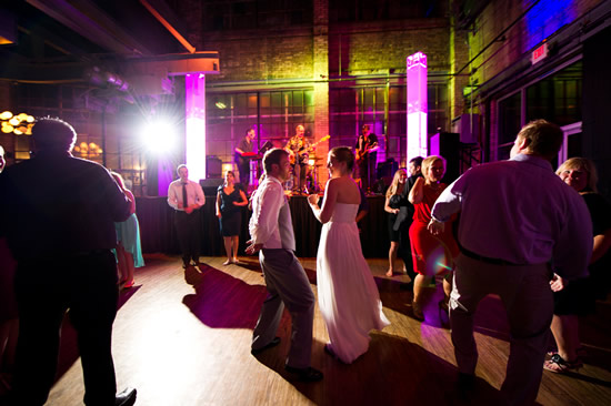 Hot Water Warehouse Wedding