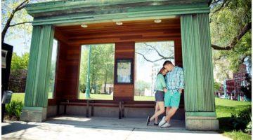 Milwaukee Engagement Pictures - Third Ward