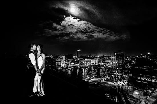 Pritzlaff Roof Wedding Photo