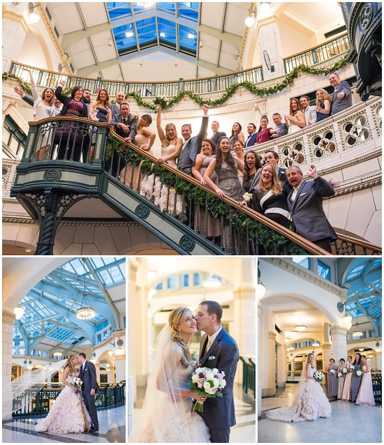 Grand Avenue Milwaukee Wedding