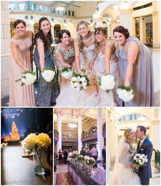 Historical Society Wedding Flowers