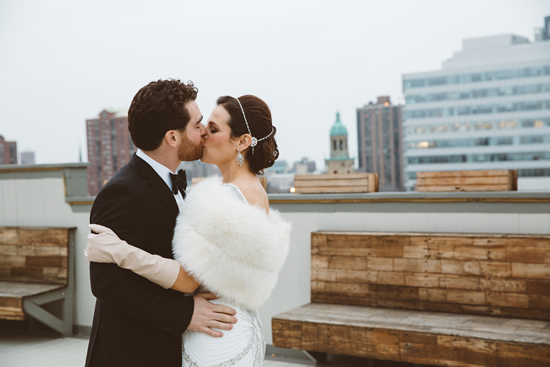 Milwaukee Athletic Club Wedding Photo